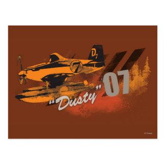 Dusty Graphic Postcard