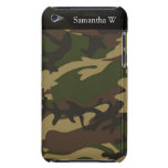 Dusty Green Camo Barely There iPod Case