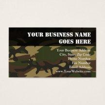 Military camo business cards templates zazzle colourmoves