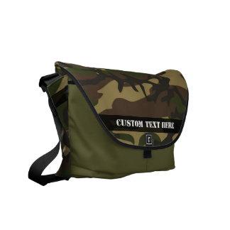 Dusty Green Camo Courier Bag