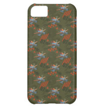 Dusty Green Pattern Cover For iPhone 5C