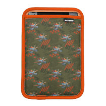 Dusty Green Pattern iPad Mini Sleeve