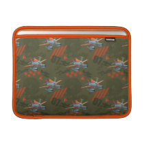 Dusty Green Pattern MacBook Air Sleeve