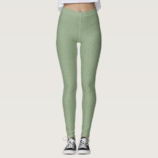 Dusty Green Tesselation Leggings