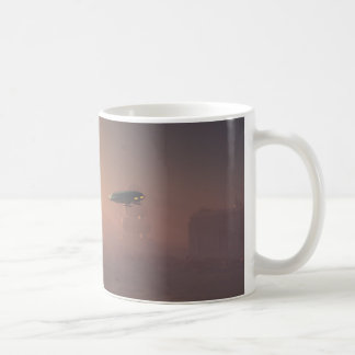 Dusty Landing on Mars Colonial Outpost Coffee Mug