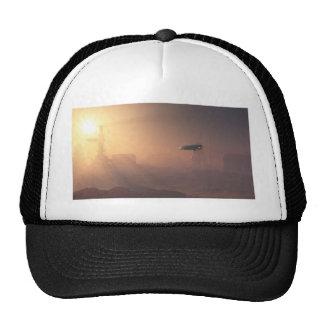 Dusty Landing on Mars Colonial Outpost Trucker Hat