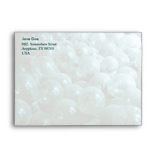 Dusty light bulbs envelope