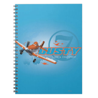 Dusty - Like a Champion! Notebook