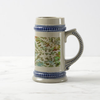 Dusty Miller Abstract Pop Art Beer Stein