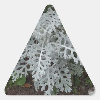 Dusty Miller Triangle Sticker