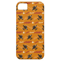 Dusty Orange Pattern iPhone SE/5/5s Case