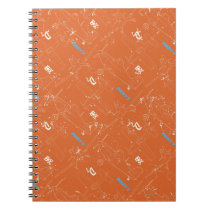 Dusty Pattern Notebook