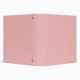 Dusty Pink Peach Vintage Apricot 2015 Color Trend Vinyl Binder