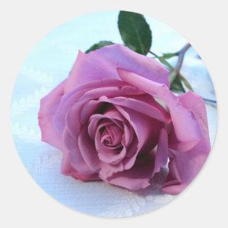 Dusty Pink Rose Sticker
