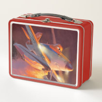 Dusty - Piston Peak Fire Dept Metal Lunch Box