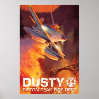 Dusty - Piston Peak Fire Dept Print
