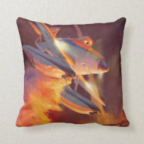 Dusty - Piston Peak Fire Dept Throw Pillow