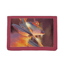 Dusty - Piston Peak Fire Dept Tri-fold Wallet