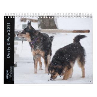 Dusty & Polu 2011 Wall Calendars