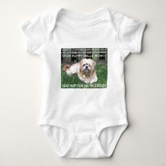 DUSTY - PUPPY MILL SURVIVOR BABY BODYSUIT