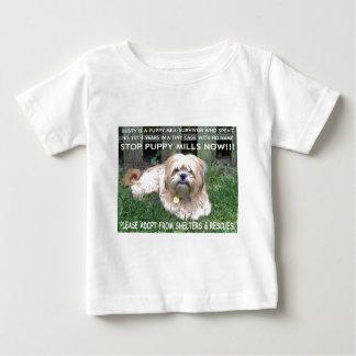 DUSTY - PUPPY MILL SURVIVOR BABY T-Shirt