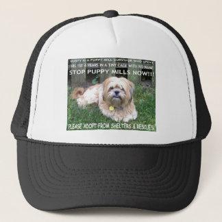DUSTY - PUPPY MILL SURVIVOR TRUCKER HAT