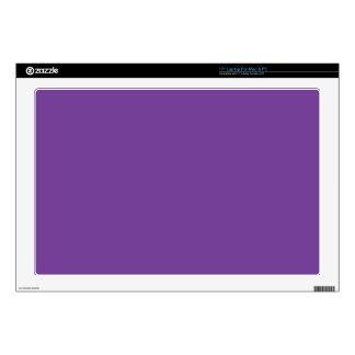 "Dusty Purple Color 17"" Laptop Decal"