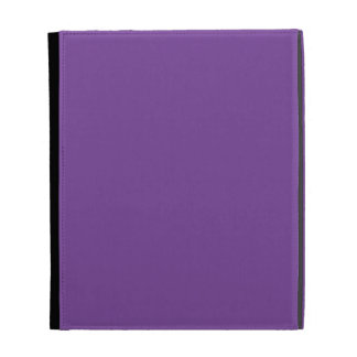 Dusty Purple Color iPad Case