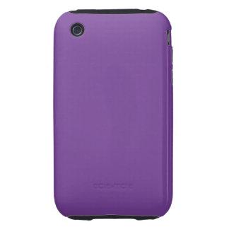 Dusty Purple Color iPhone 3 Tough Cases