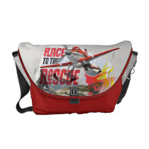 Dusty Race To The Rescue Messenger Bag at Zazzle