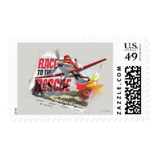 Dusty Race To The Rescue Postage
