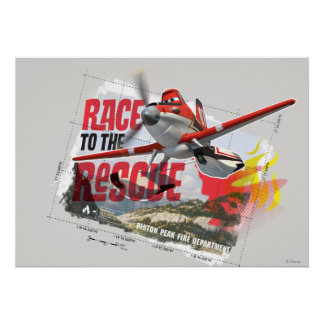 Dusty Race To The Rescue Poster