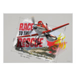 Dusty Race To The Rescue Posters