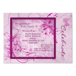 Dusty Rose Colored Scroll All Occasion Invitation