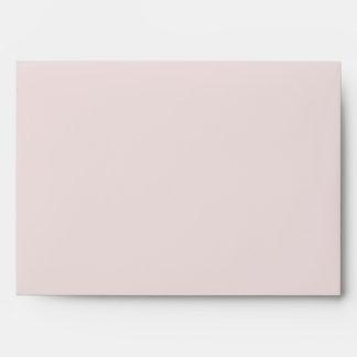Dusty Rose Interior Light Lavender Exterior Envelope