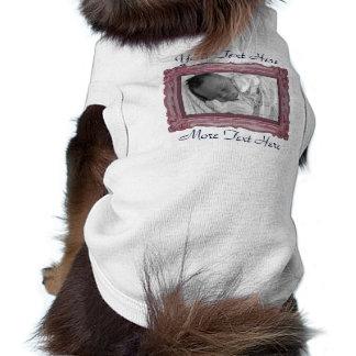Dusty Rose Photo Frame Pet Clothing