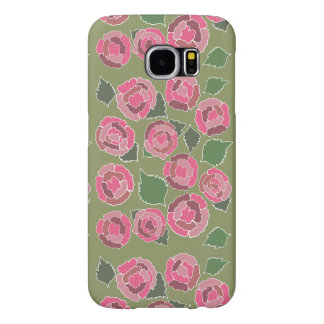 Dusty Roses in Pink Samsung Galaxy S6 Case