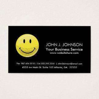 Dusty Ruff Bearded Smiley Face Business Card