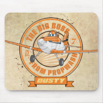 Dusty - The Big Boss from Propwash Mouse Pad