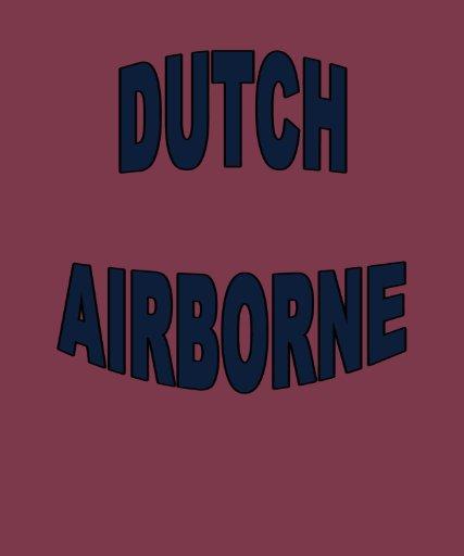Dutch Airborne Paratroopers Nederland Shirts