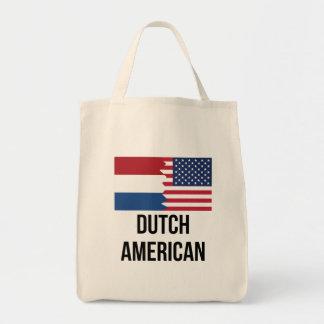 Dutch American Flag Tote Bag