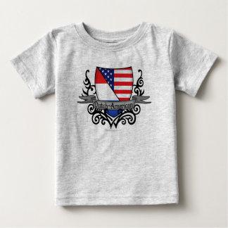 Dutch-American Shield Flag T Shirt