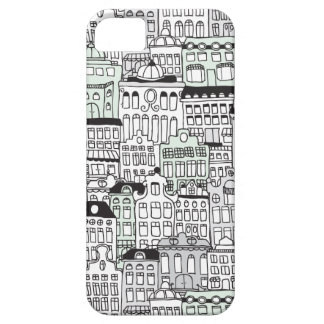 Dutch amsterdam illustration home pattern iPhone 5 covers