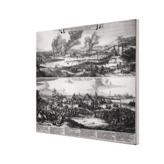 Dutch Attack on the River Medway Canvas Print