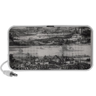 Dutch Attack on the River Medway Mini Speaker