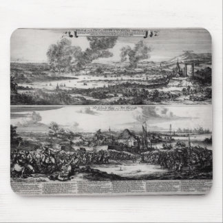 Dutch Attack on the River Medway Mouse Pad