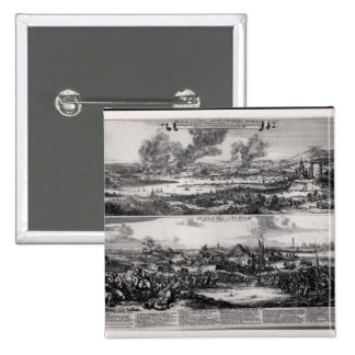 Dutch Attack on the River Medway Pinback Button