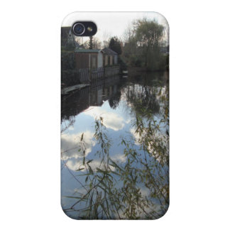 dutch autumn day by the water iPhone 4/4S cover