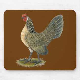 Dutch Bantam:  Blue Quail Hen Mouse Pad