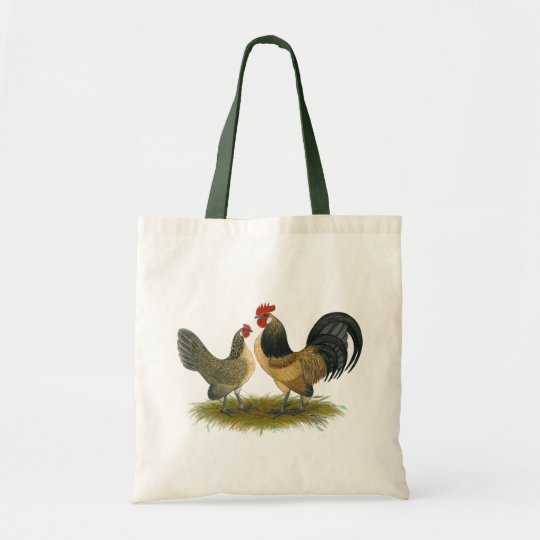 Dutch Bantam:  Blue Quail Tote Bag